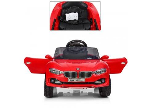 Детский электромобиль BMW БМВ на амортизаторах M 3175EBLR-3 красный