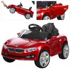 Детский электромобиль BMW БМВ на амортизаторах M 3175EBLRS-3 автопокраска красный