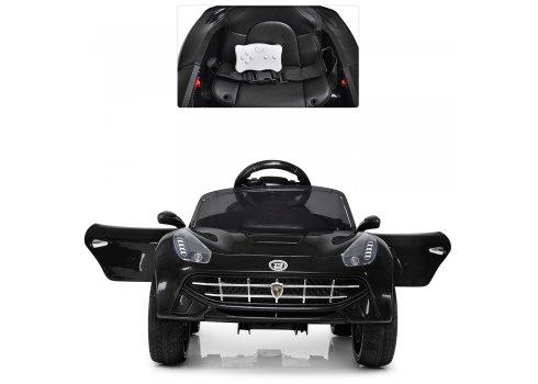 Детский электромобиль машина Ferrari (Феррари) M 3176EBLR-2 черный