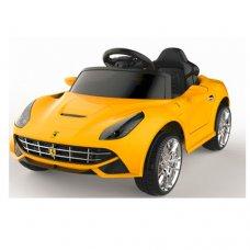 Детский электромобиль машина Ferrari (Феррари) M 3176EBLR-6 желтый