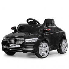 Детский электромобиль BMW с кожаным сиденьем, M 3271EBLR-2 черный