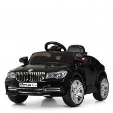 Детский электромобиль BMW с кожаным сиденьем, M 3271EBLRS-2 черный автопокраска