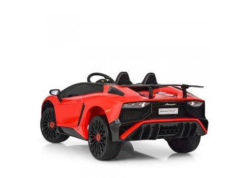Детский 2-моторный электромобиль Lamborghini, M 3903EBLR-3 красный