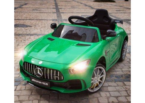 Детский двухмоторный электромобиль Mercedes, M 3904 EBLR-5 зеленый