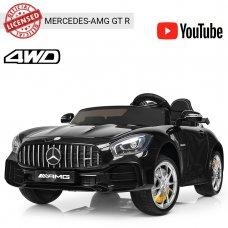 Детский двухместный электромобиль Mercedes-AMG GT, M 3905EBLR-2 черный