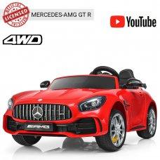 Детский двухместный электромобиль Mercedes-AMG GT, M 3905EBLR-3 красный
