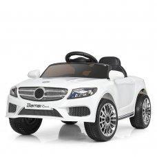 Детский электромобиль Mercedes (Мерседес) для ребенка от 1 года Bambi M 3981EBLR-1 белый