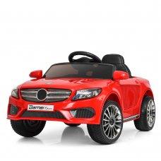 Детский электромобиль Mercedes (Мерседес) для ребенка от 1 года Bambi M 3981EBLR-3 красный
