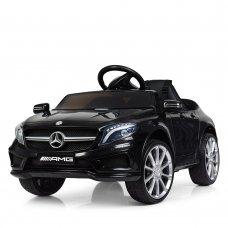 Детский электромобиль Mersedec AMG с кожаным сиденьем M 3995EBLR-2 черный