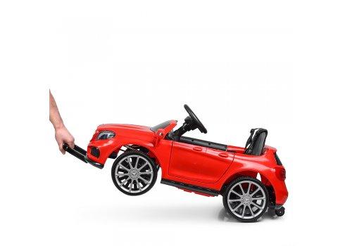 Детский электромобиль Mersedec AMG с кожаным сиденьем M 3995EBLR-3 красный