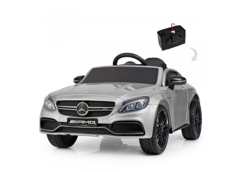 Детский электромобиль Mercedes с автопокраской, M 4010EBLRS-11 серый