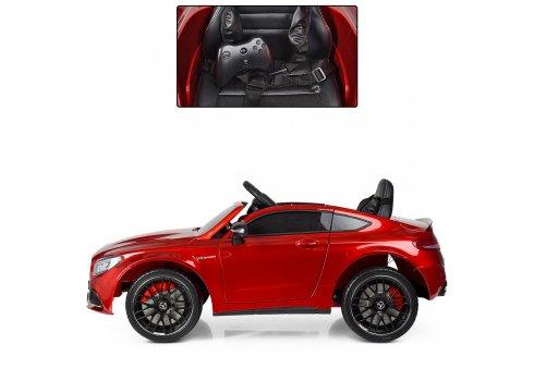 Детский электромобиль Mercedes с автопокраской, M 4010EBLRS-3 красный