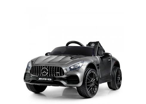 Детский электромобиль Mercedes AMG с автомобильной покраской M 4062EBLRS-11 серый