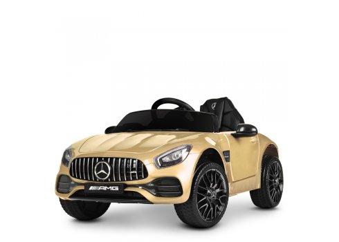Детский электромобиль Mercedes AMG с автомобильной покраской M 4062EBLRS-13 золото