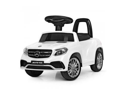 Электромобиль толокар Mercedes на пульте управления M 4065EBLR-1 белый