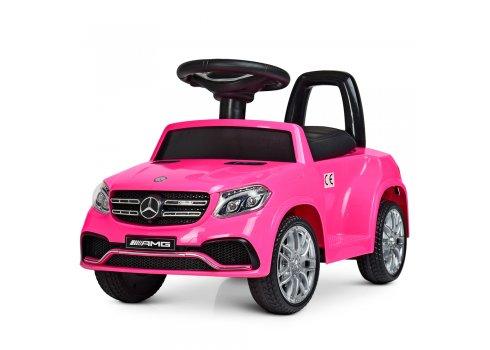 Электромобиль толокар Mercedes на пульте управления M 4065EBLR-8 розовый