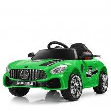 Детский электромобиль  Mercedes AMG M 4105EBLR-5 зеленый