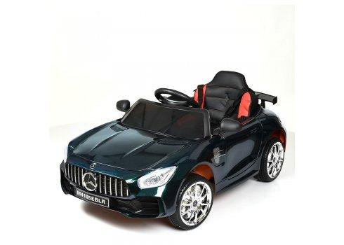 Детский электромобиль Mercedes AMG M 4105EBLRS-5 хамелеон зеленый