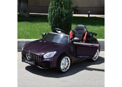 Детский электромобиль Mercedes AMG M 4105EBLRS-9 хамелеон пурпурный