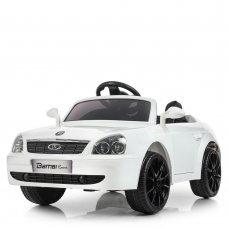 Детский электромобиль машина Lada Priora (Лада Приора) M 4106EBLR-1 белый