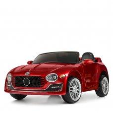 Детский электромобиль Bentley Бентли на пульте управления, Bambi M 4109EBLRS-3 красный автопокраска