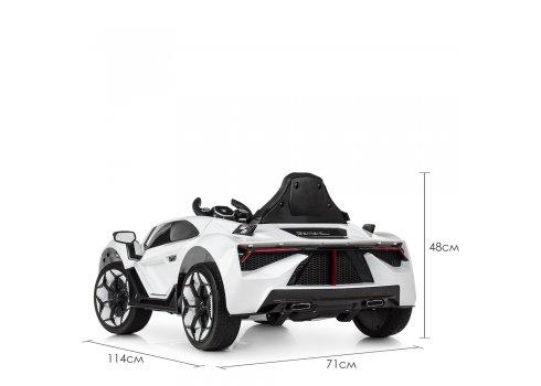 Детский спортивный электромобиль LAMBORGHINI M 4115EBLR-1 белый
