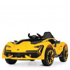 Детский спортивный электромобиль Lamborghini M 4115EBLR-6 желтый