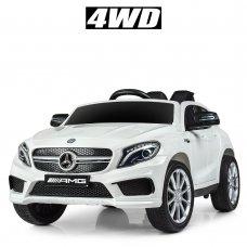 Детский электромобиль 4WD Mercedes AMG CLA 45 (Мерседес) BAMBI M 4124EBLR-1 белый