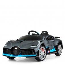 Детский электромобиль Bugatti M 4139EBLRS-11 серо-синий автопокраска