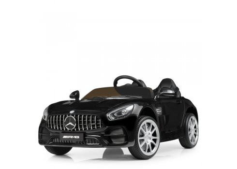 Детский двухместный электромобиль Mercedes Bambi M 4158EBLR-2 черный