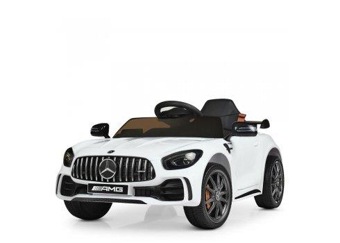 Детский электромобиль Mercedes AMG (Мерседес) для ребенка от 1 года Bambi M 4181EBLR-1 белый