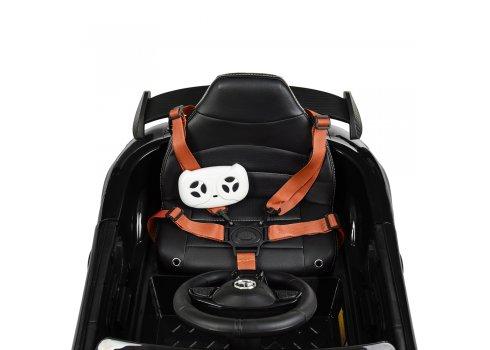 Детский электромобиль Mercedes AMG с реалистичной покраской Bambi M 4181EBLRS-2 черный