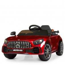Детский электромобиль Mercedes AMG с реалистичной покраской Bambi M 4181EBLRS-3 красный