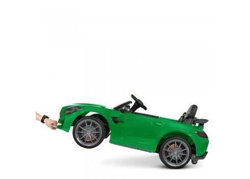 Детский электромобиль Mercedes AMG на пульте управления Bambi Racer M 4182EBLR-5 зеленый