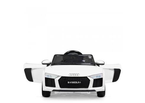 Электромобиль детский в стиле машины Audi (Ауди) Bambi Racer M 4190EBLR-1 белый