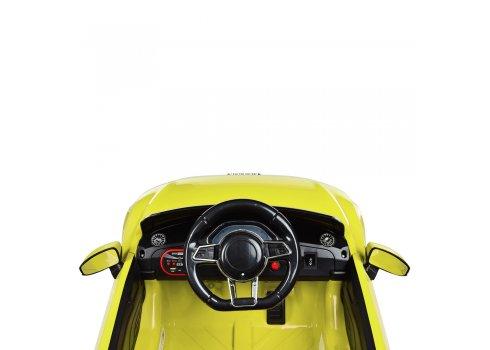 Электромобиль детский в стиле машины Audi (Ауди) Bambi Racer M 4190EBLR-6 желтый