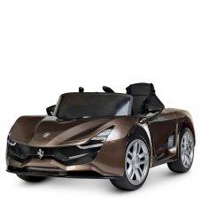Детский электромобиль Ferrari с автопокраской M 4203EBLRS-13 коричневый
