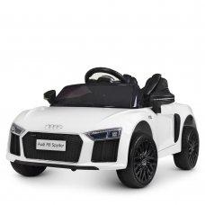 Детский электромобиль машина (Ауди) Audi R8 Spyder M 4281EBLR-1 белый
