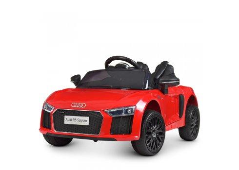 Детский электромобиль машина (Ауди) Audi R8 Spyder M 4281EBLR-3 красный