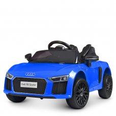 Детский электромобиль машина (Ауди) Audi R8 Spyder M 4281EBLR-4 синий