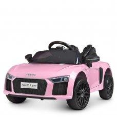Детский электромобиль машина (Ауди) Audi R8 Spyder M 4281EBLR-8 розовый