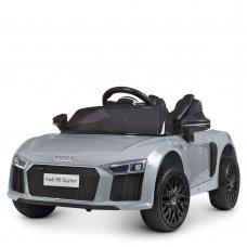 Детский электромобиль машина (Ауди) Audi R8 Spyder M 4281EBLRS-11 серый