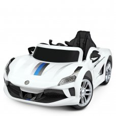 Детский электромобиль Машина Bambi M 4455EBLR-1 белый
