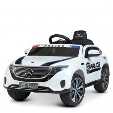 Детский электромобиль Полиция Mercedes (Мерседес) Bambi Racer M 4519EBLR-1 белый