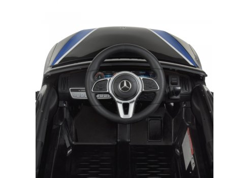 Детский электромобиль Полиция Mercedes (Мерседес) Bambi Racer M 4519EBLR-2 черный