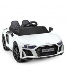 Детский электромобиль машина (Ауди) Audi R8 Spyder M 4527EBLR-1 белый