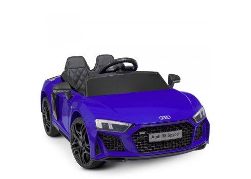 Детский электромобиль машина (Ауди) Audi R8 Spyder M 4527EBLR-4 синий