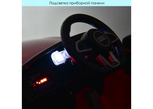 Детский электромобиль машина (Ауди) Audi R8 Spyder M 4527EBLRS-2 черный покраска