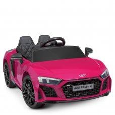 Детский электромобиль машина (Ауди) Audi R8 Spyder M 4527EBLR-8 розовый