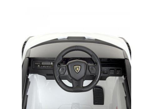 Детский электромобиль Lamborghini (Ламборджини) Bambi M 4530EBLR-1 белый